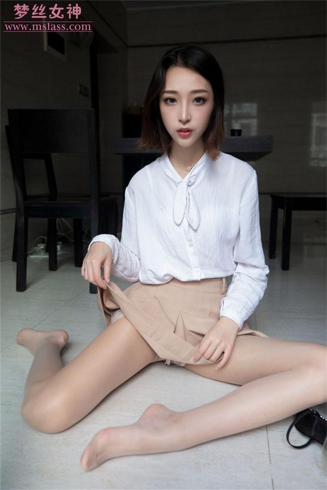 MSLASS梦丝女神-美女主播乔儿[/592MB]