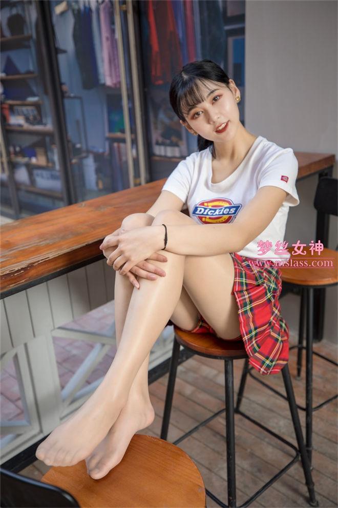 MSLASS梦丝女神-可岚油光丝袜的少女[/911MB]