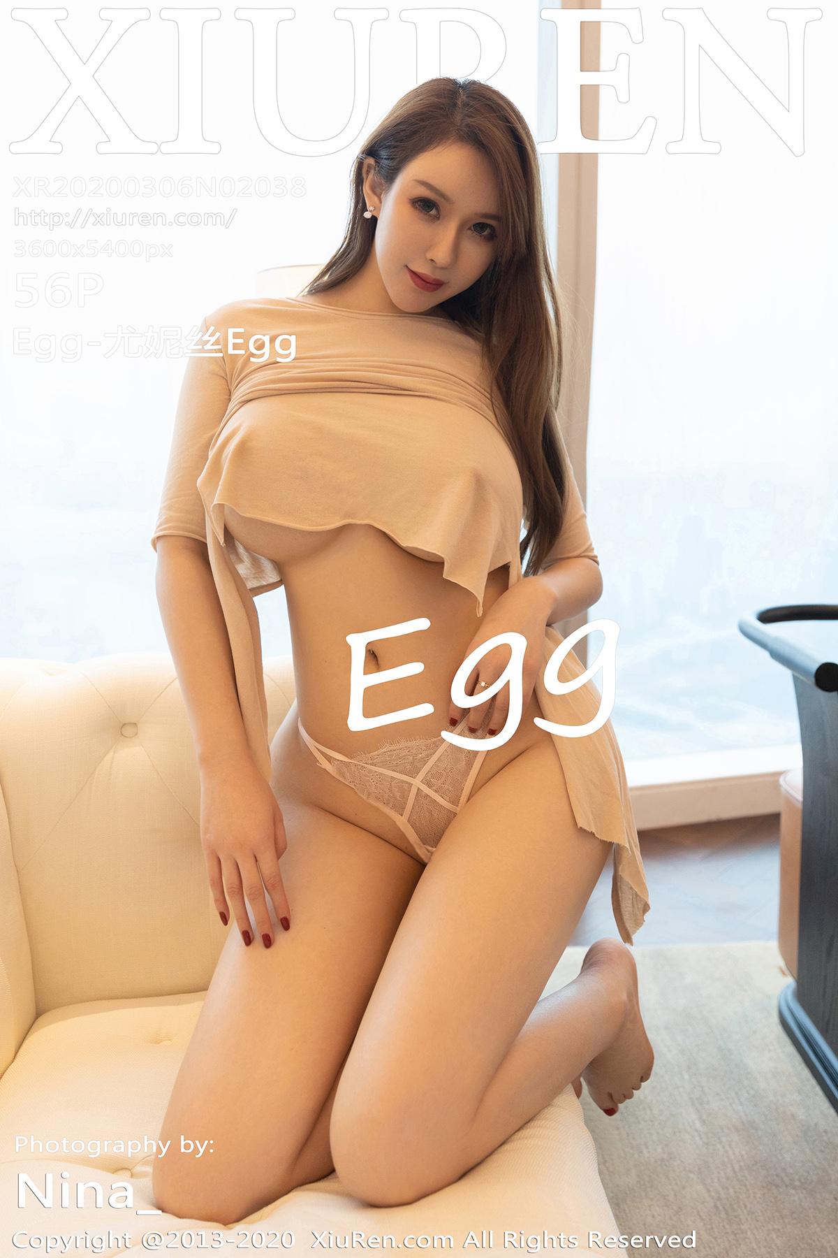[XiuRen秀人网]2020.03.06 No.2038 Egg_尤妮丝 巨乳肥臀[/143MB]
