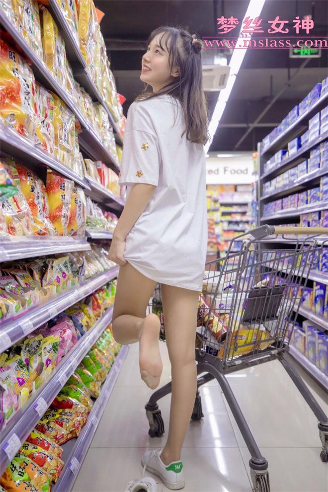 MSLASS梦丝女神-玥玥超市的吃货少女[/841MB]