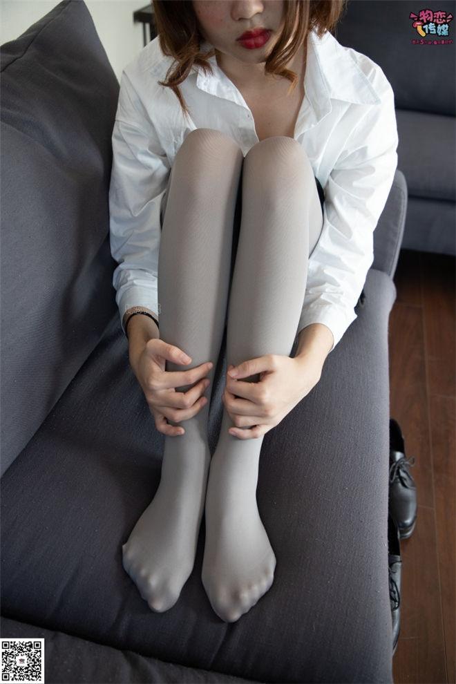 物恋传媒-No.076沙发可爱灰丝与小皮鞋[/810MB]