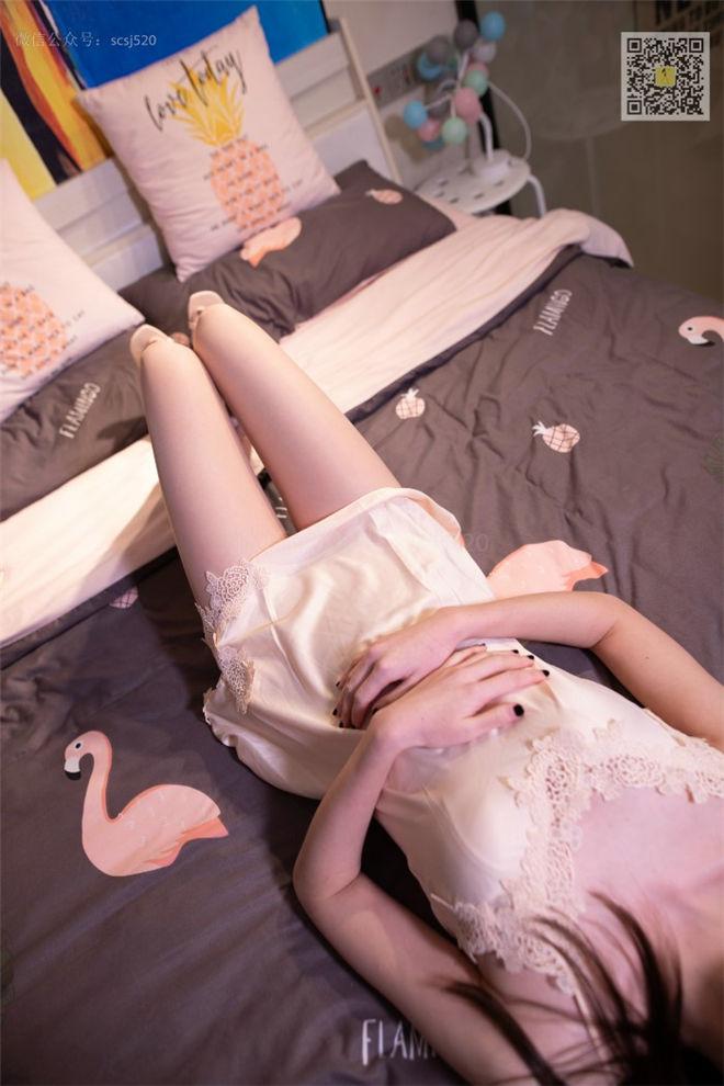LSS山茶摄影-NO.030小淑长腿配睡裙[/76MB]