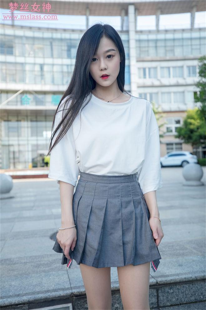 MSLASS梦丝女神-灵灵甜静的明星脸[/344MB]