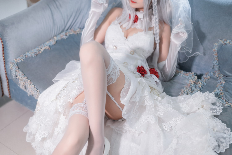 三度_69 – 花嫁之玫瑰婚纱 [/430MB]