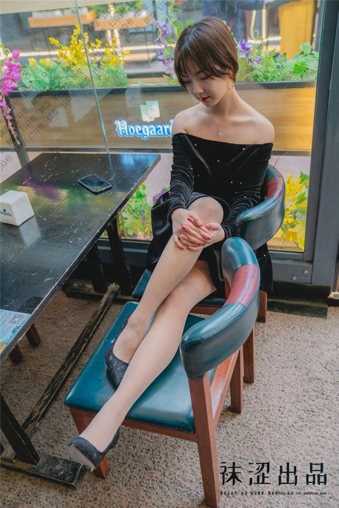 袜涩写真-VOL.056暖暖黑色小礼服[/0.99G]