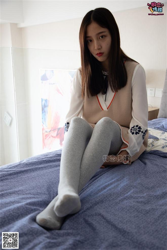 物恋传媒-No.066清纯小姐姐的灰色长筒棉袜[/922MB]