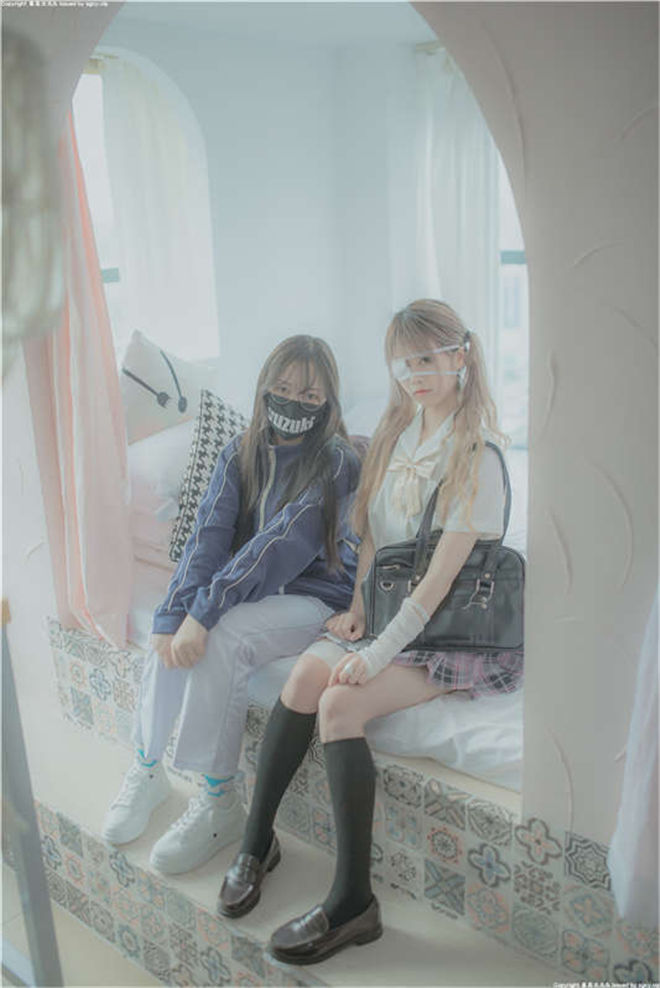柚木新作-JK制服百合姐妹花[/537MB]