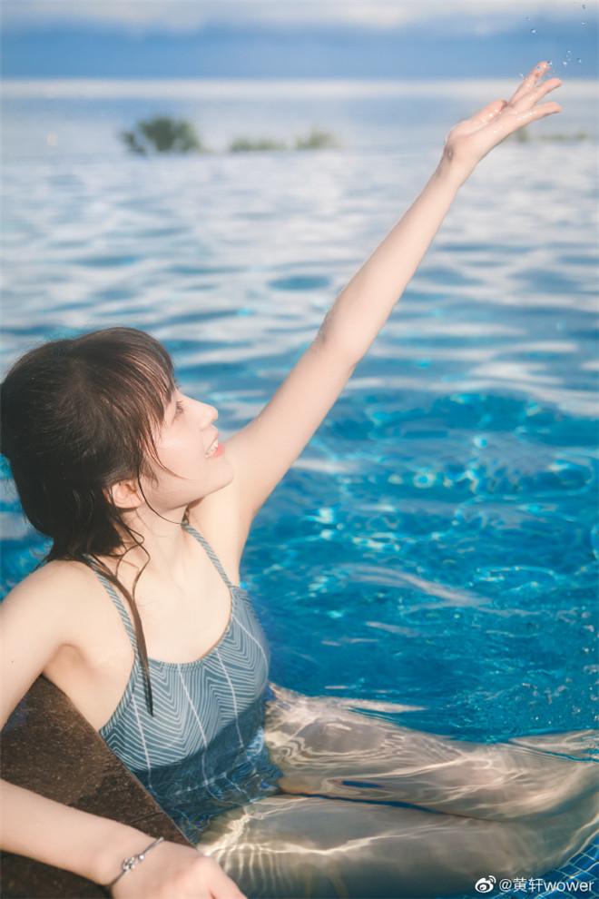 妹子图:@黄轩wower,她的笑容如同冬天的阳光般暖暖的!