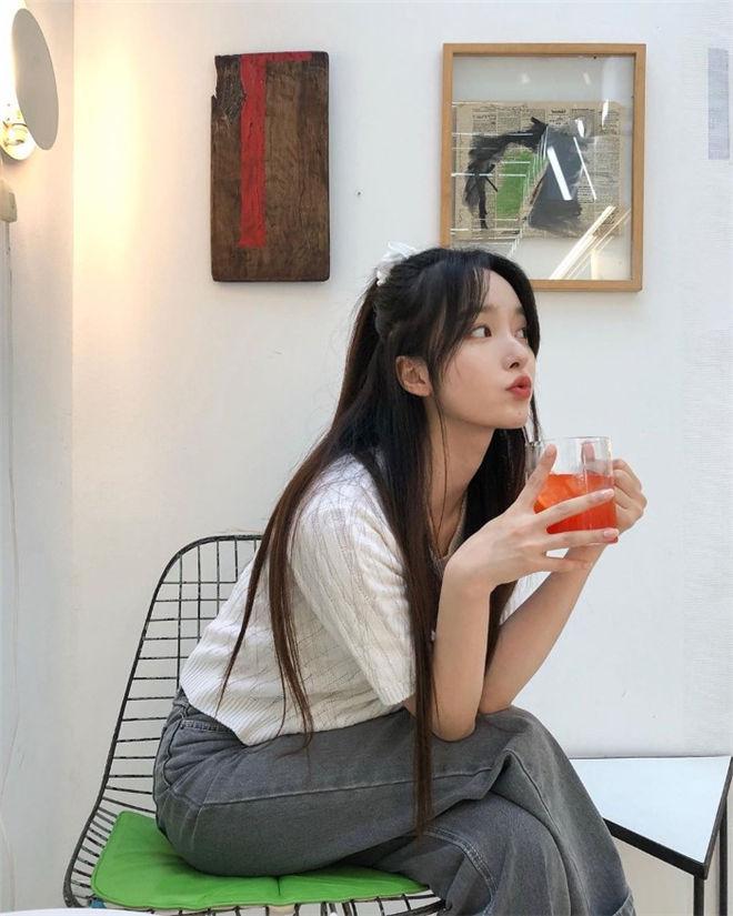 妹子图:韩国人气正妹김나희,空灵仙女感超治愈人心!