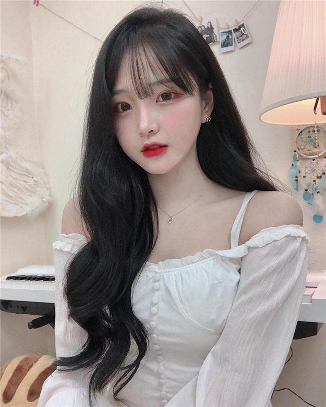 妹子图:韩国最H直播主朴敏贞1995.mj,这个妹子超级棒!