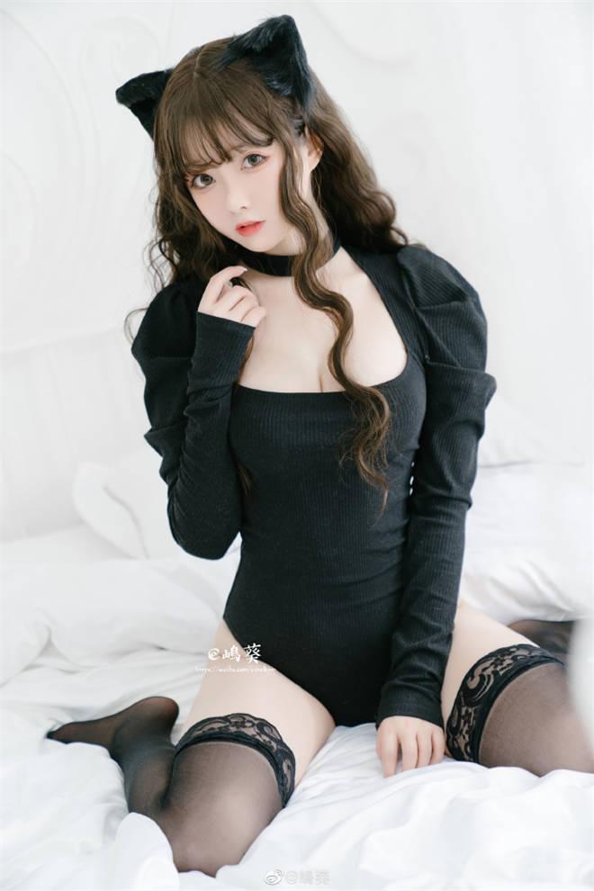 妹子图:@嶋葵,圆脸二次元cosplay妹子真好看!