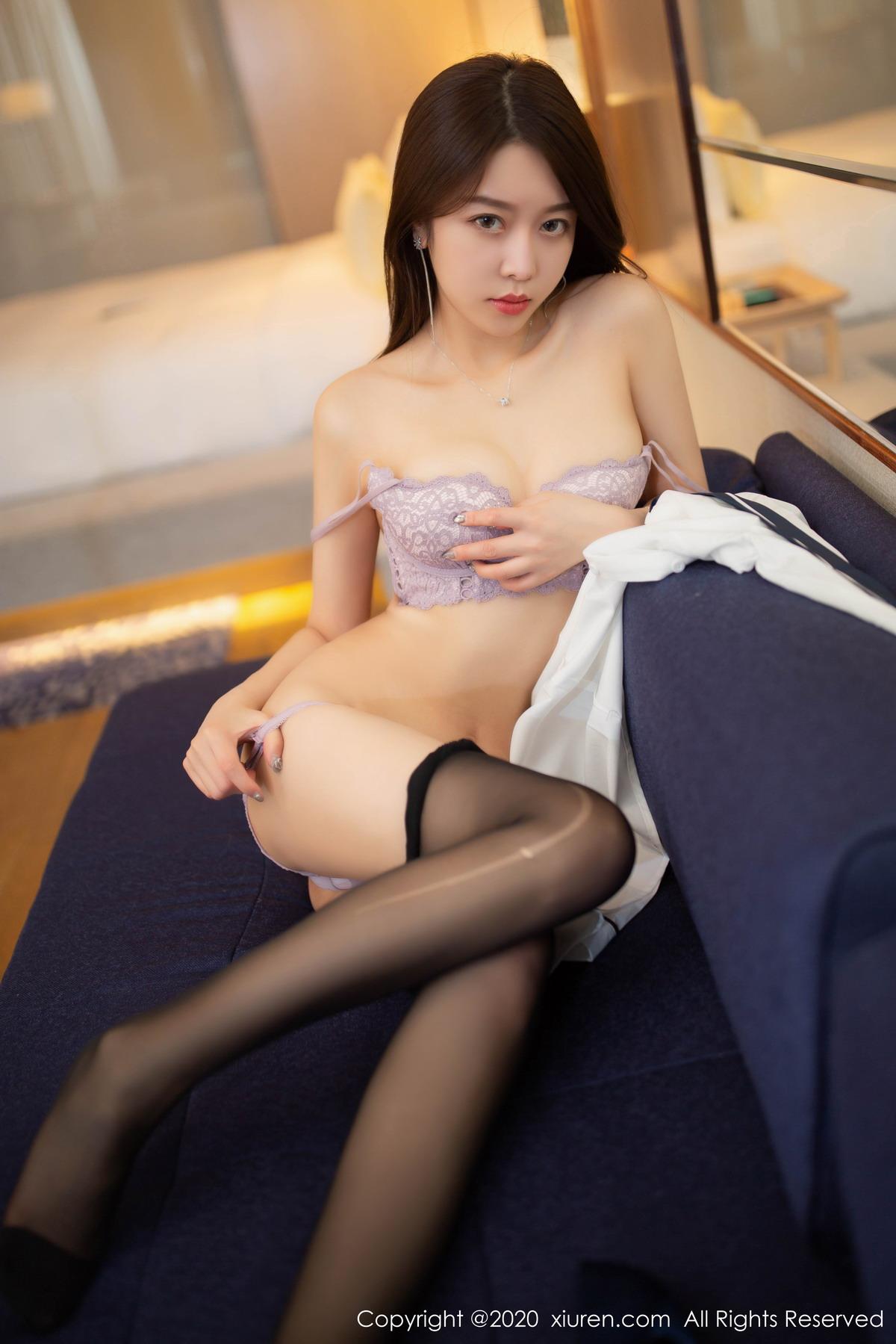[XiuRen秀人网]2020.05.20 No.2267 夏诗雯Sally 黑丝 秘书[/162MB]