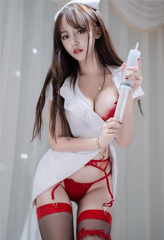 过期米线线喵-情趣吊带护士[/96MB]