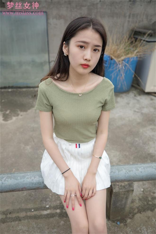 MSLASS梦丝女神-柳儿侧颜太美的小姐姐[/1.01G]