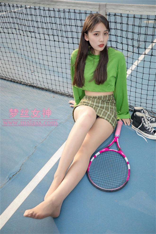 MSLASS梦丝女神-香萱网球少女[/364MB]