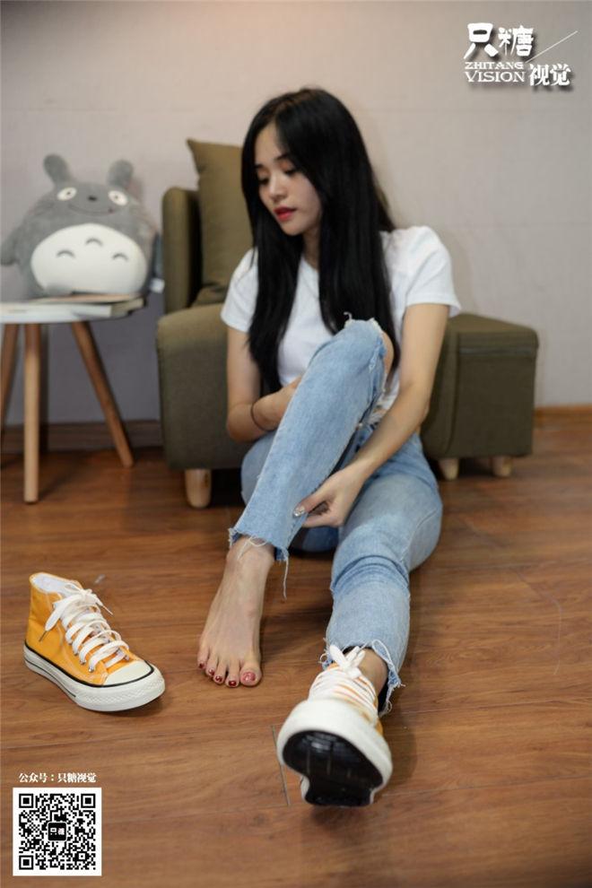 只糖棉袜-NO.020牛仔裤搭配帆布鞋(下)[/190MB]