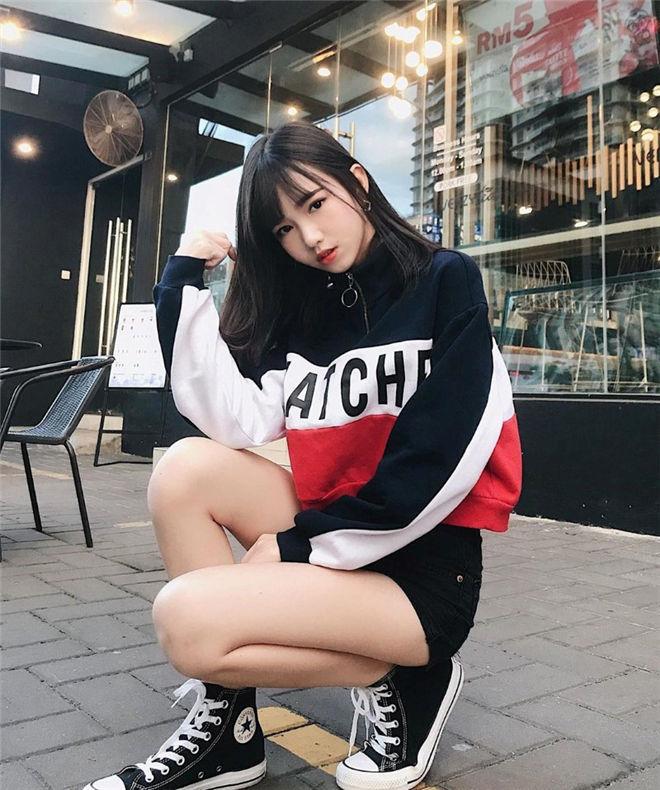 妹子图:超萌学妹CiaoWen巧雯,清新可爱真诱人!