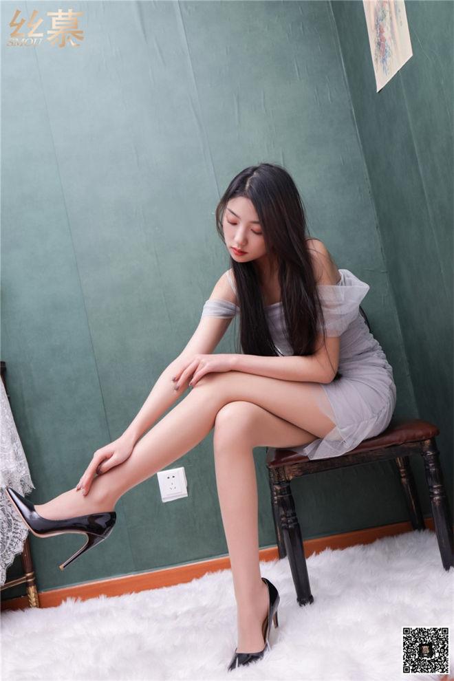 丝慕写真-SM280诗晴腿控体验记[/234MB]
