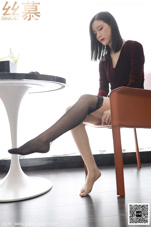 [丝慕GIRL]SM430 天天一元 模特:紫宁《酒店评测》[/133MB]