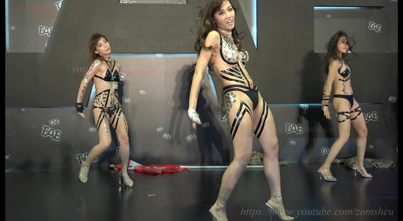 LuxyGirls x 黑膠世紀 C0001 @ 2017 TAE 台灣成人博覽會[4K]