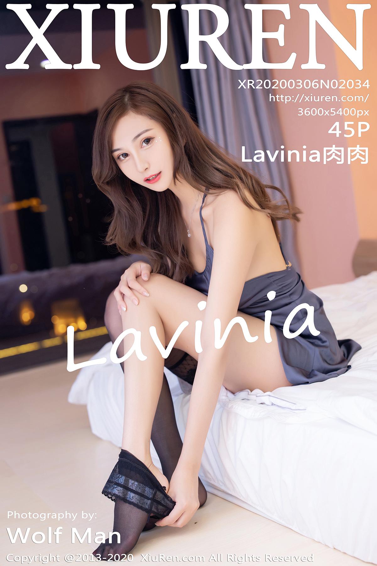 [XiuRen秀人网]2020.03.06 No.2034 Lavinia肉肉 美腿 吊裙[/78MB]