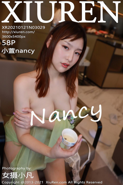 [Xiuren秀人网]2021.01.21 NO.3029 小萱nancy[/565MB]