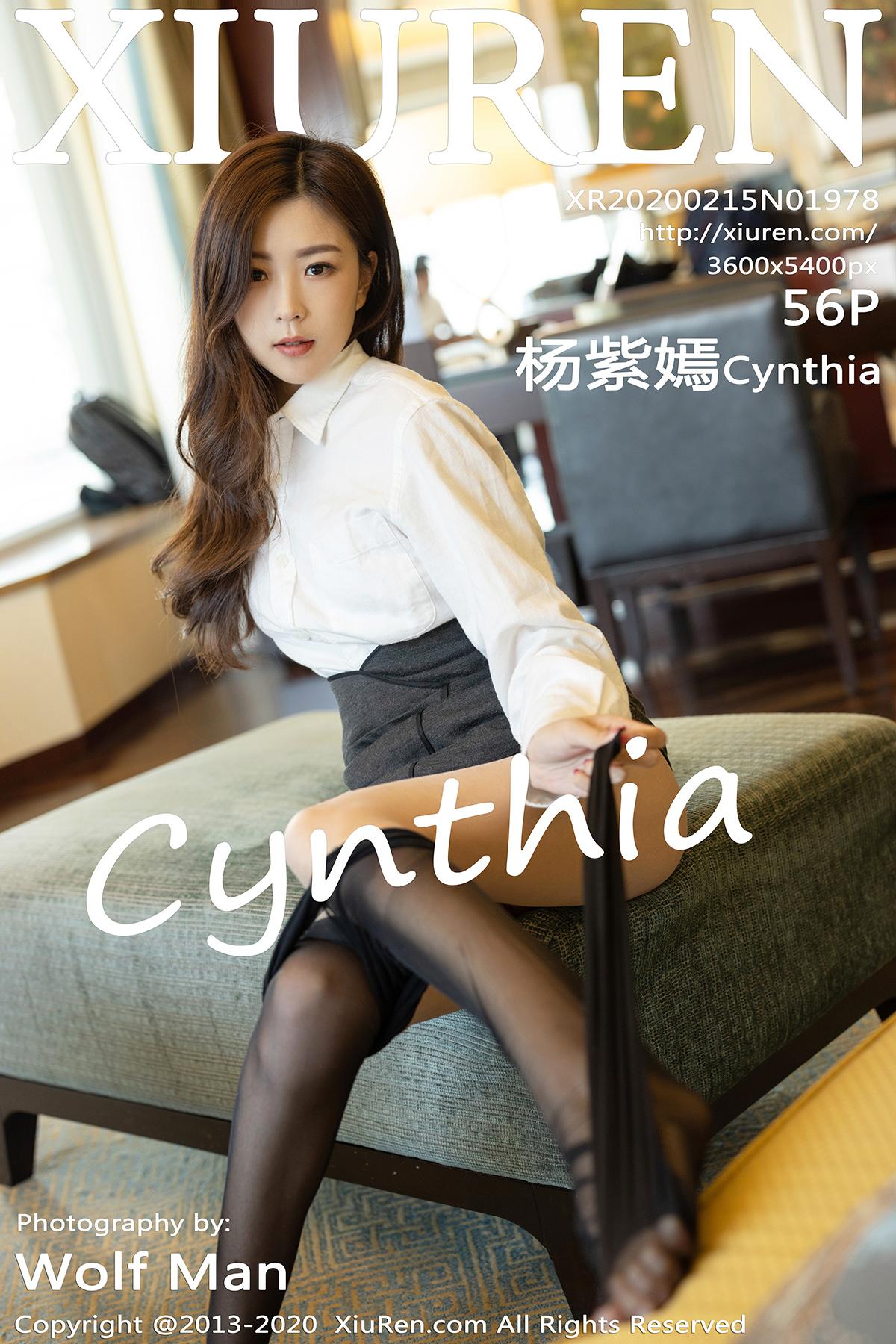 [XiuRen] 2020.02.15 NO.1978 杨紫嫣Cynthia[/276M]