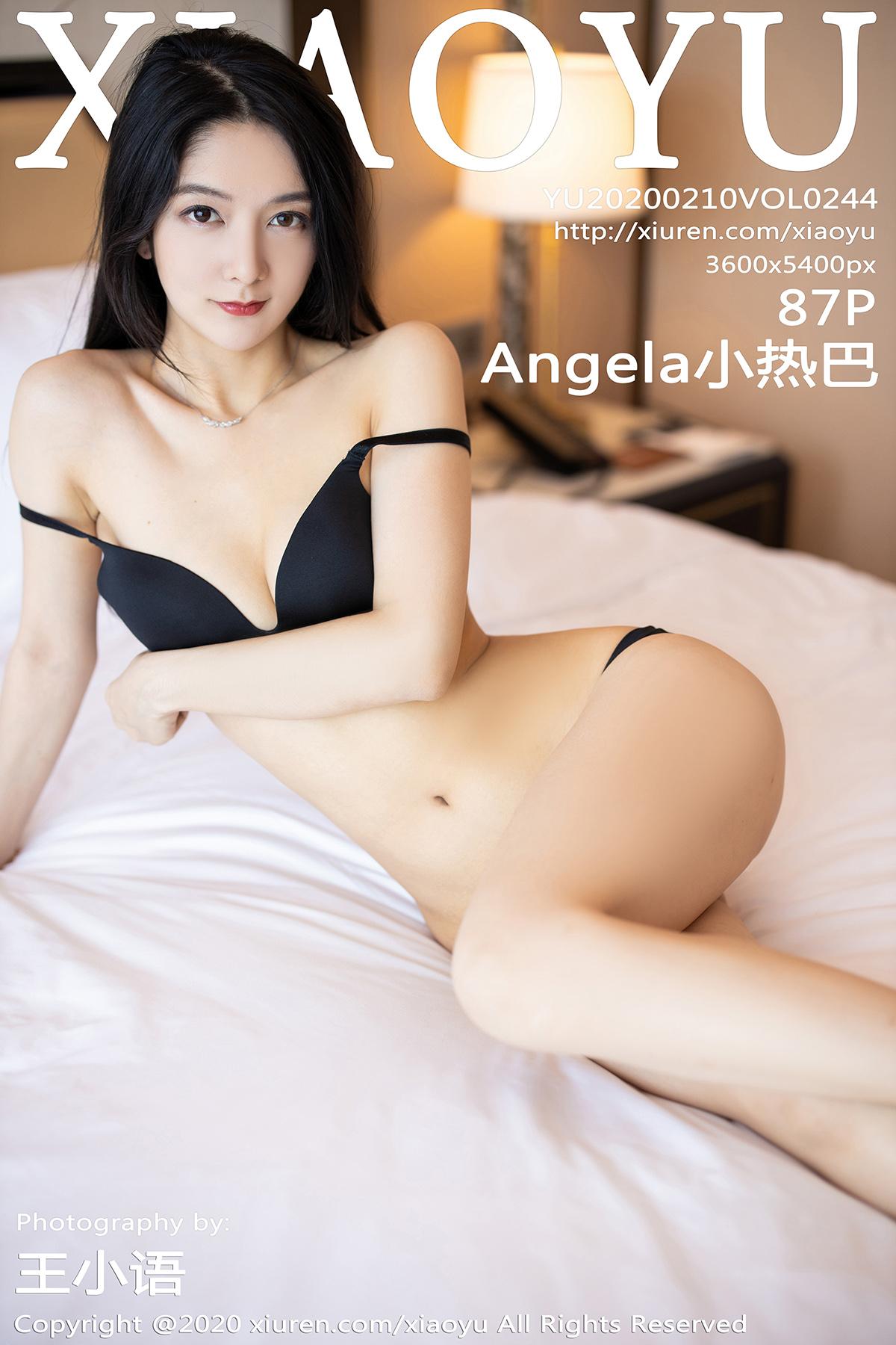 [XIAOYU语画界]2020.02.10 VOL.244 Angela小热巴 内衣 美腿[/308MB]