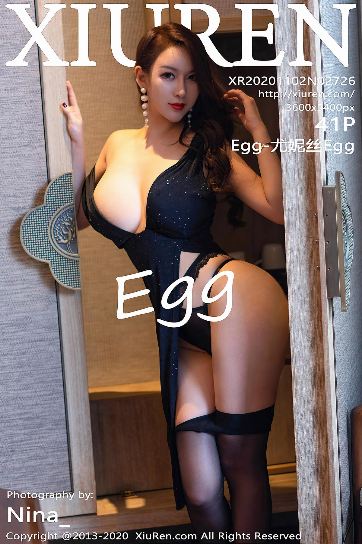 [Xiuren秀人网]2020.11.02 NO.2726 Egg-尤妮丝Egg[/429MB]