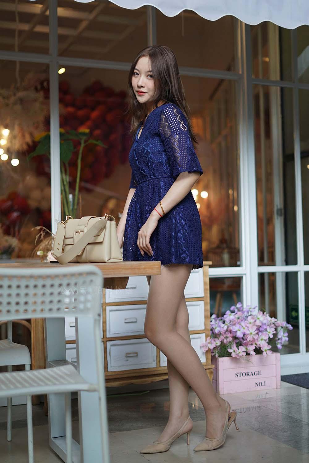 [萌甜物语]XM108《令人欣怡的蓝裙子-欣怡》[/168MB]