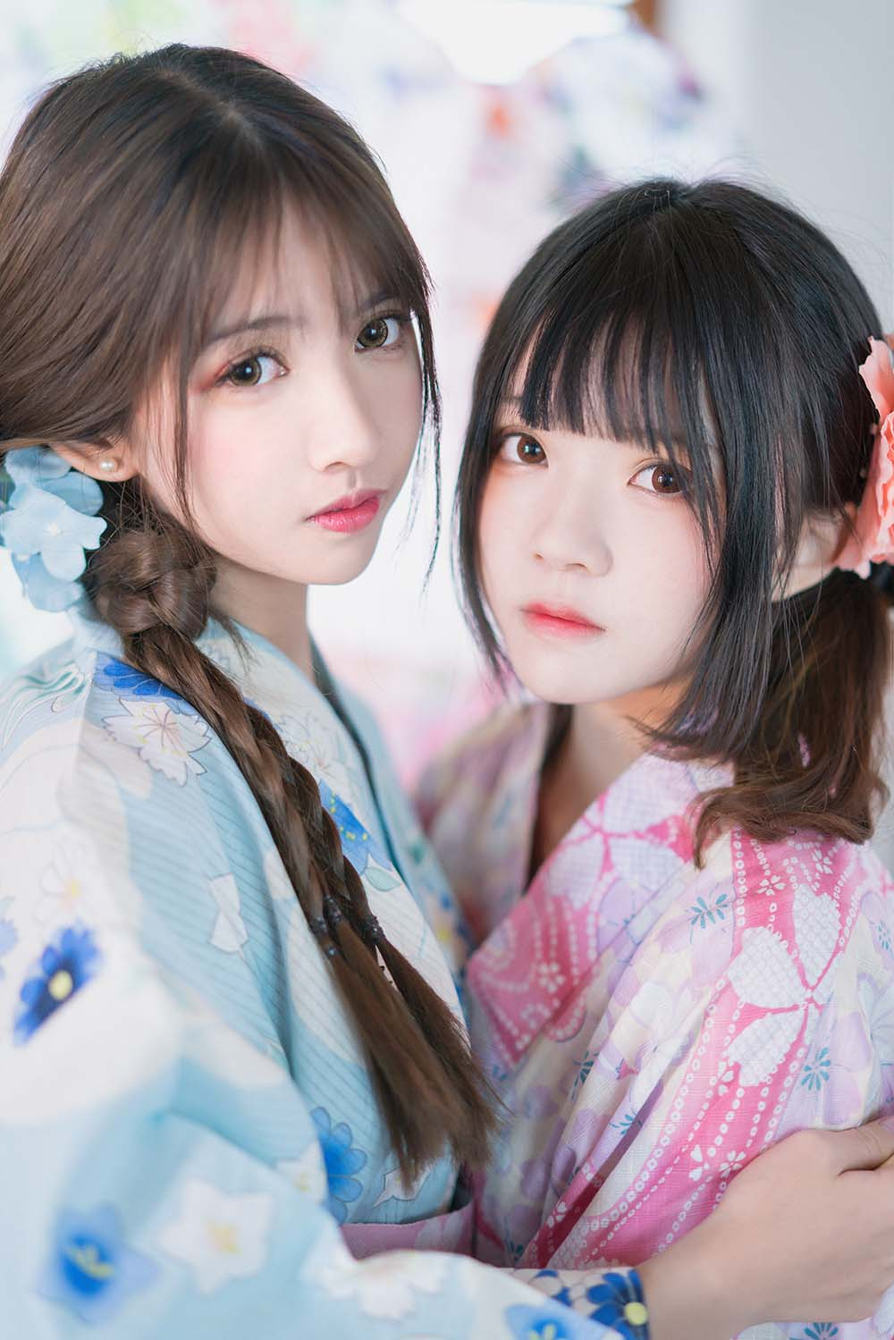 桜桃喵&鳗鱼霏子 – 双人[/253MB]