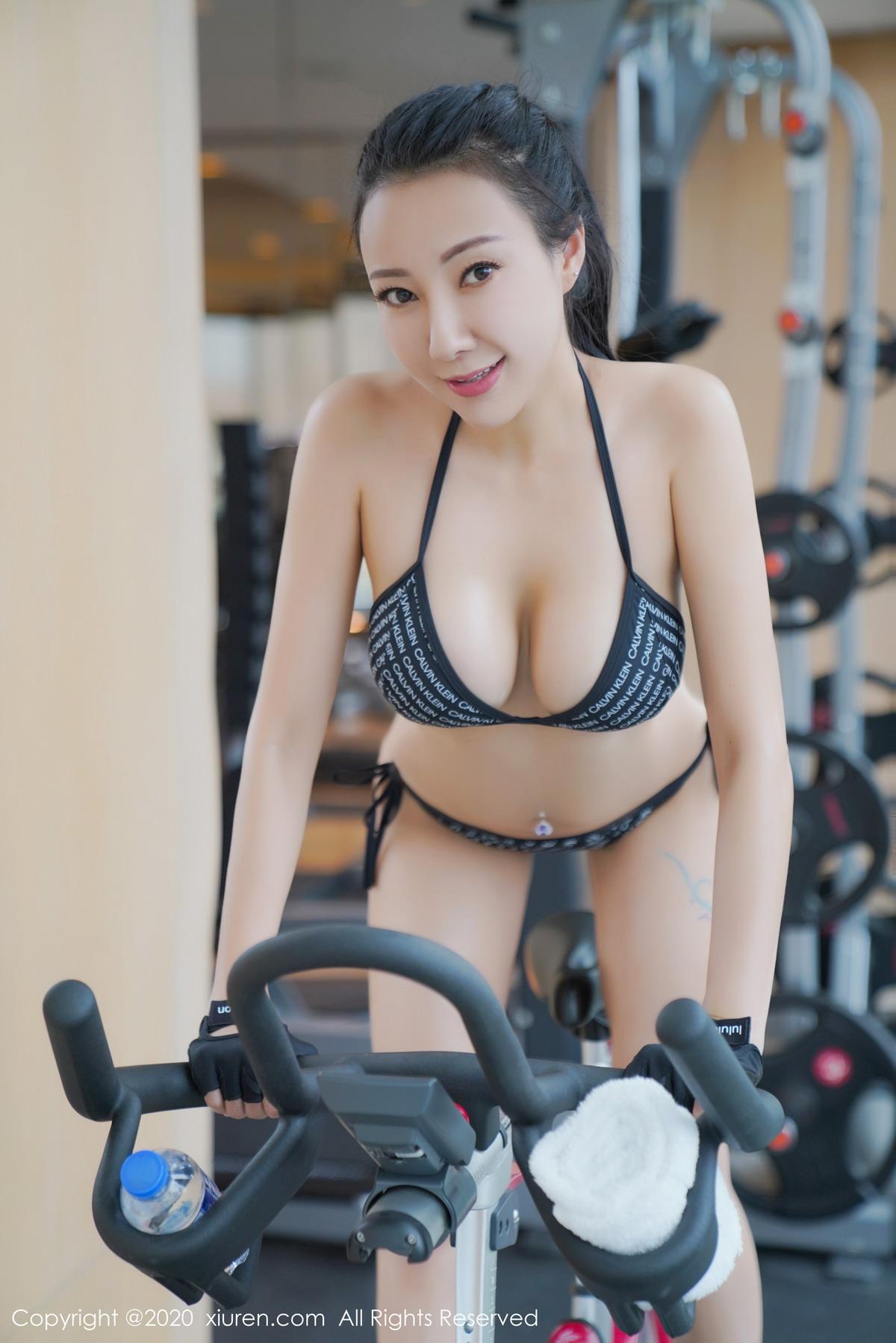 [XiuRen秀人网]2020.05.20 No.2264 果儿Victoria 湿身 健身房[/157MB]