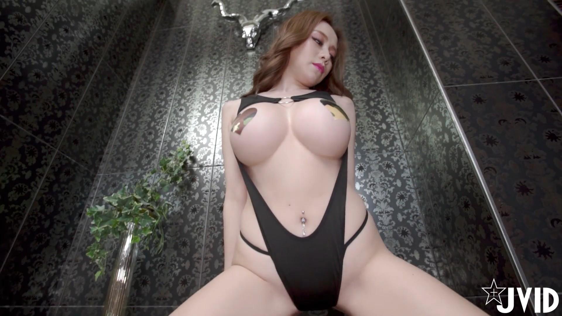 [JVID视频]巨乳剩下胸貼!張語昕性感力無限大[1V/212MB]