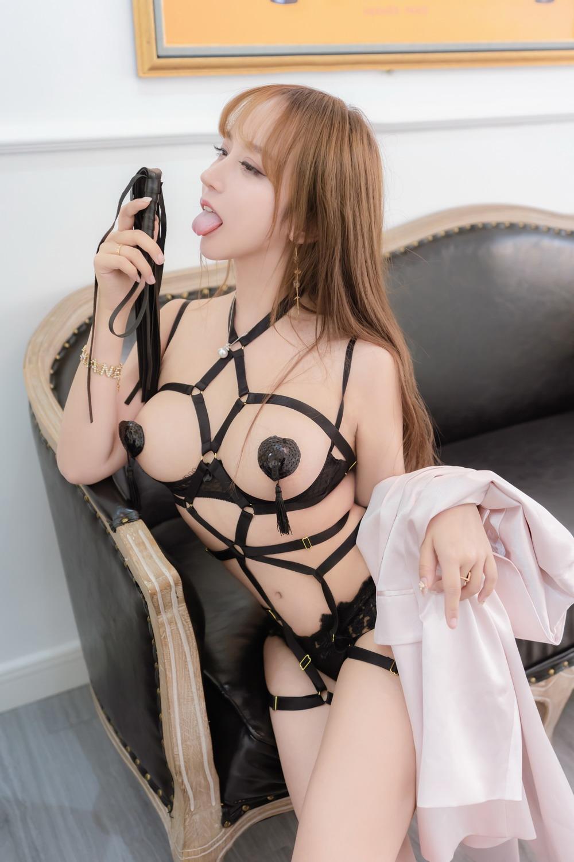 过期米线线喵 – 西装绑带 [/116MB]