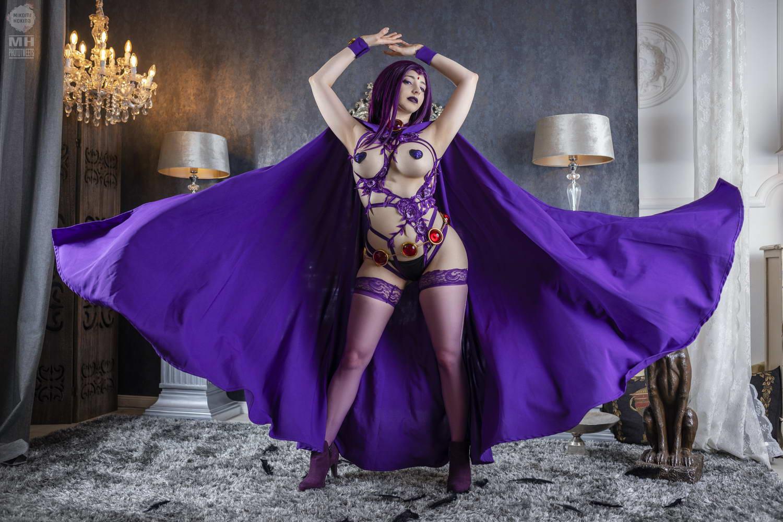 Mikomi Hokina – Raven Pasties (Teen Titans)[/1.47GB]