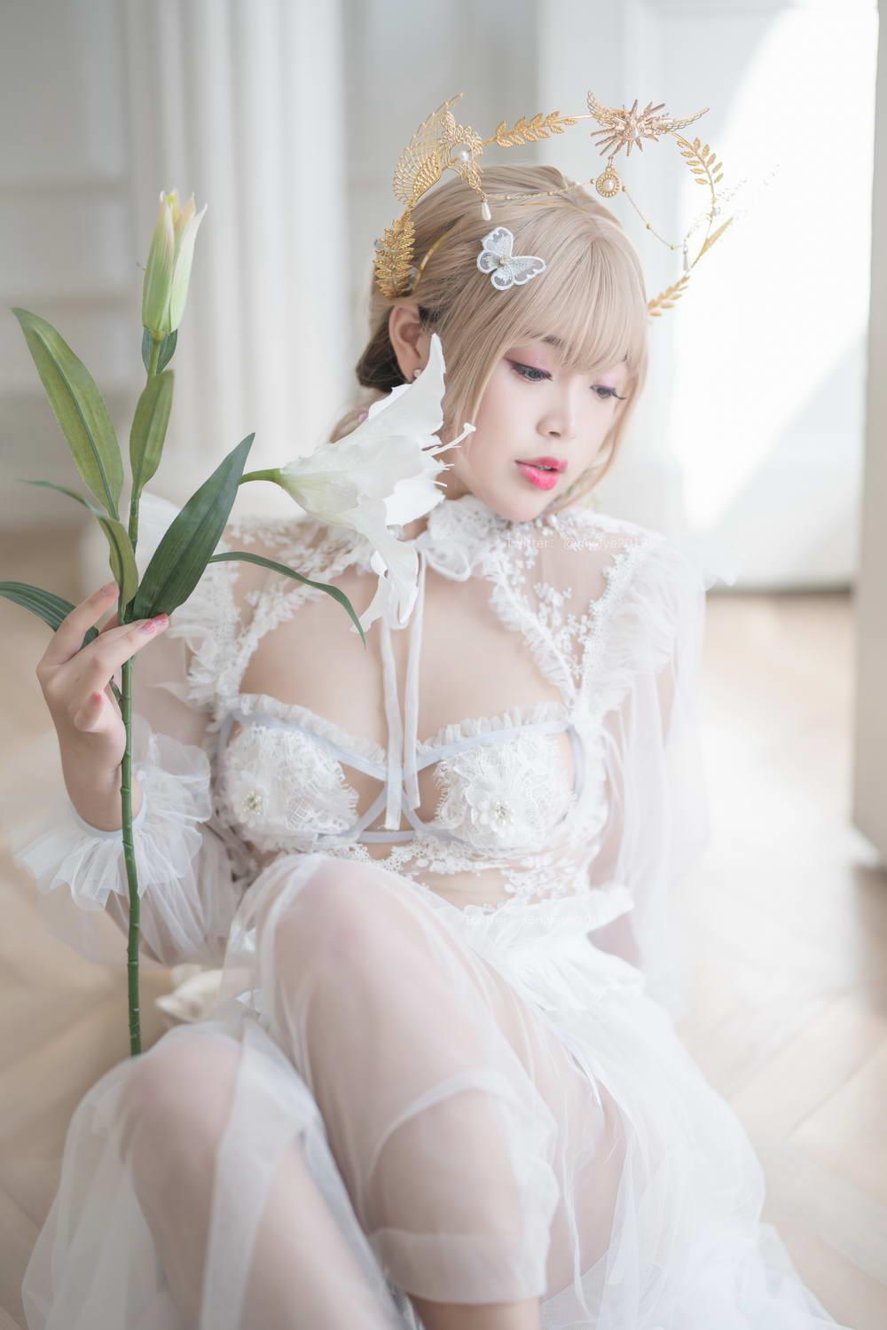 萌系小姐姐白烨 珍珠花嫁 [/1.14GB]