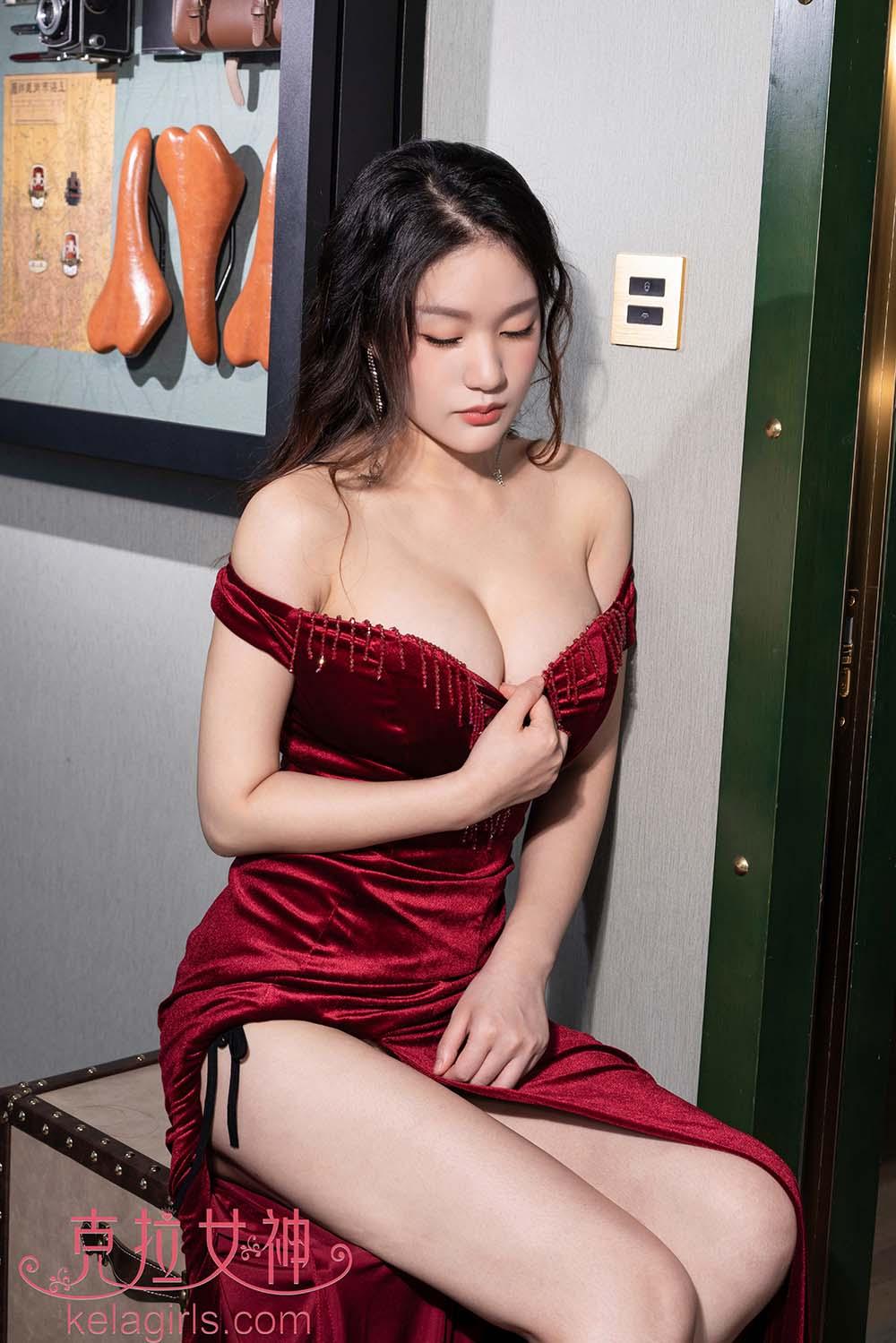 [Kelagirls克拉女神]2019.06.17《抬腿撩红裙》宋黛[/560MB]
