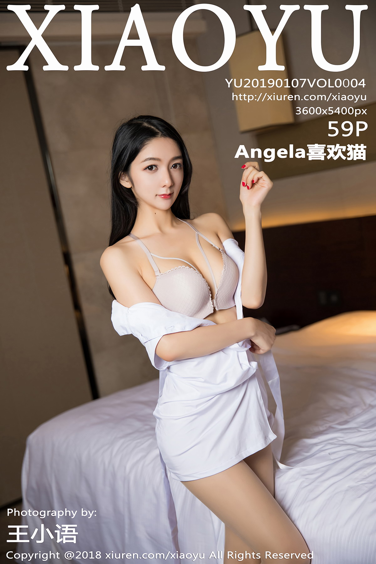 [XIAOYU语画界]2019.01.07 VOL.004 Angela喜欢猫[/192MB]