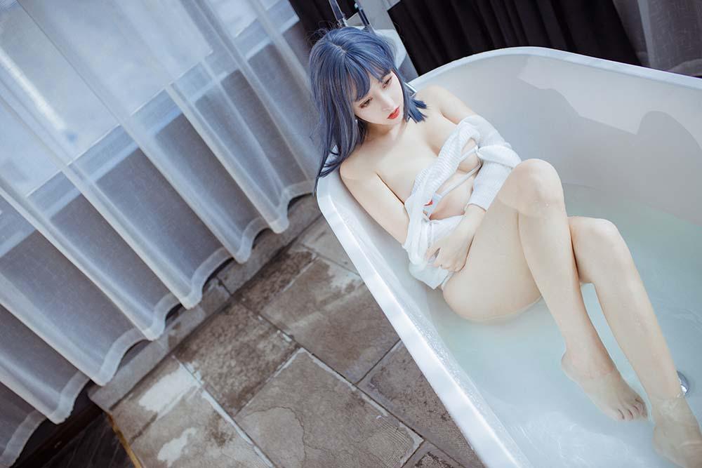 过期米线线喵 – 浴缸[/282MB]