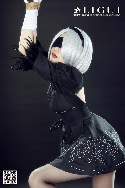 [Ligui丽柜]网络丽人 2021.03.19 Model《虐恋尼尔》甜甜[/107MB]