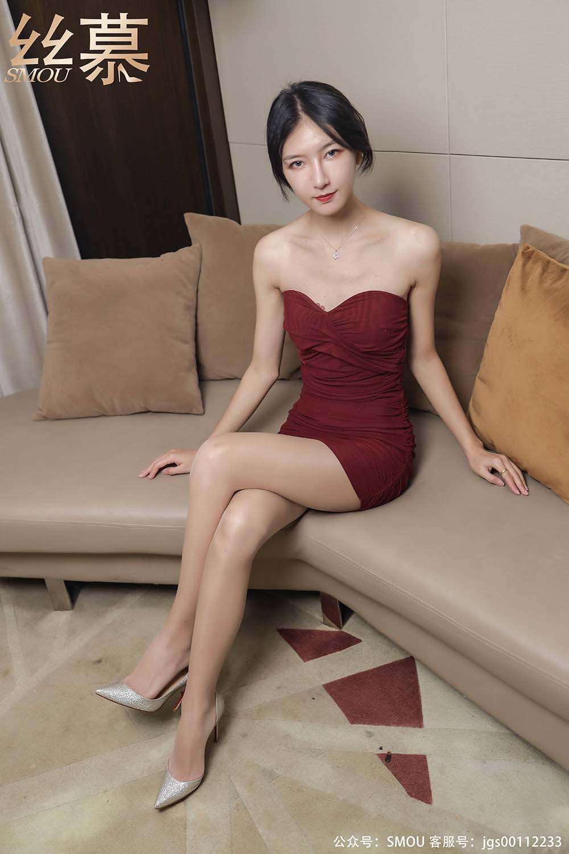 [丝慕GIRL]SM446 天天一元 模特:紫宁《轻薄丝滑美腿袜》[/117MB]