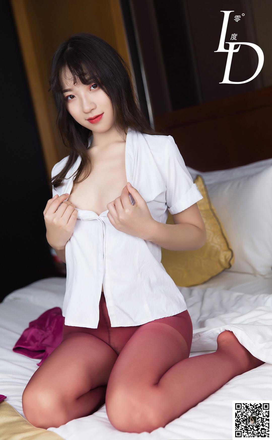 [LD零度]NO.037 萱萱之红丝诱惑[/204MB]