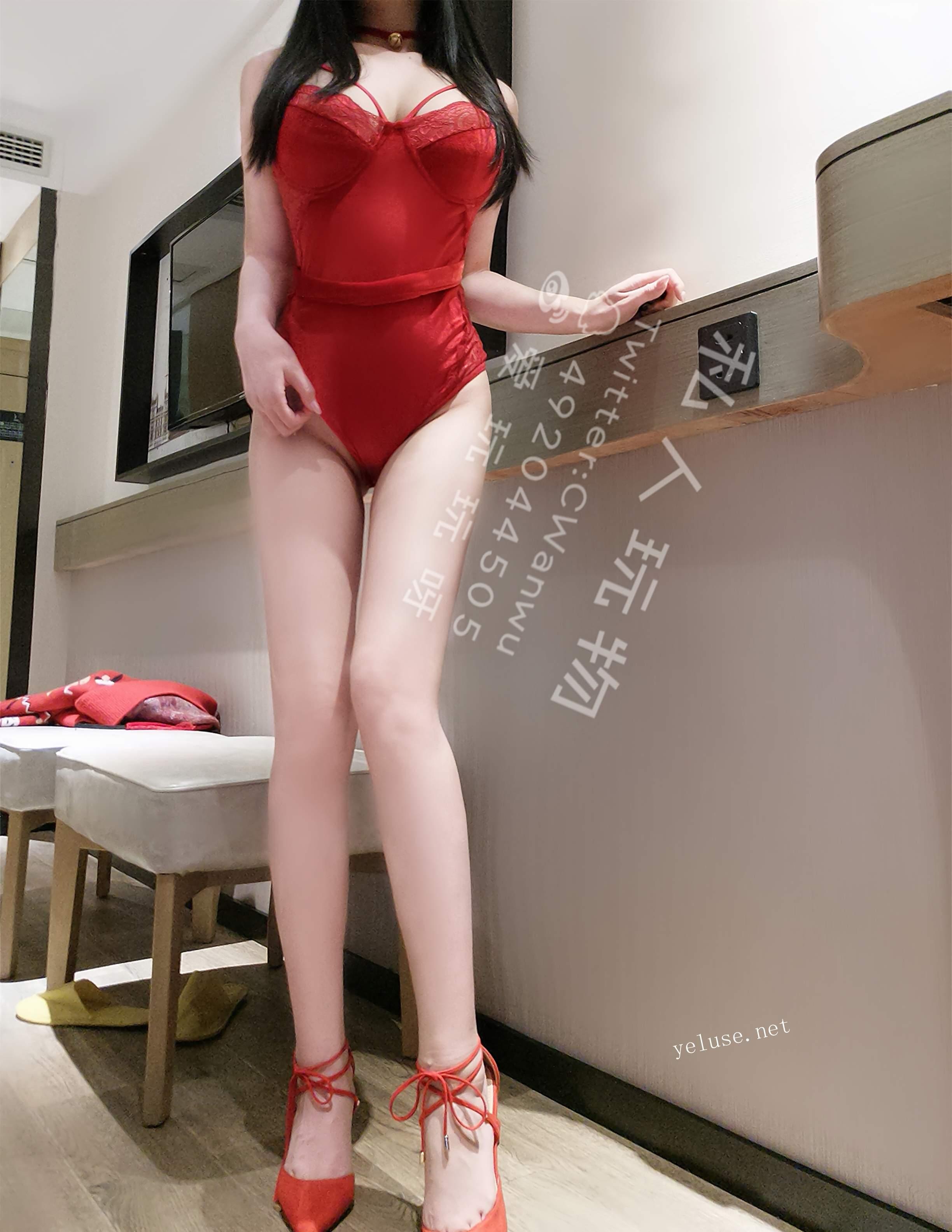 私人玩物-红色情趣内衣 COS-第2张