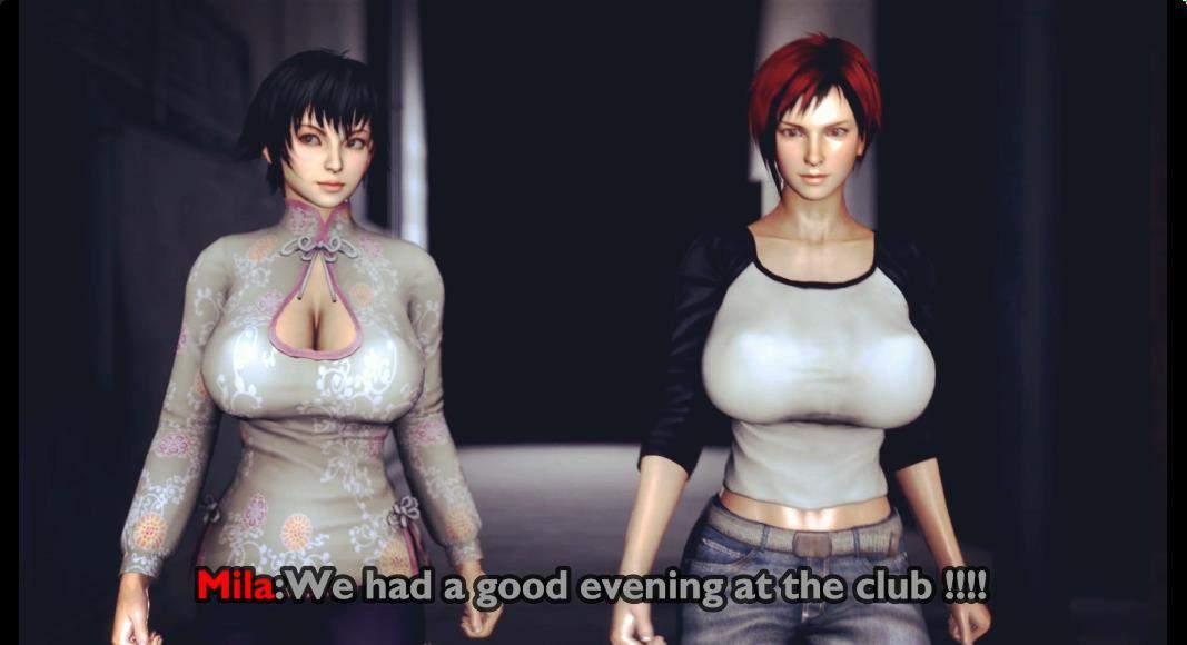 DOA同人:米拉和陈佩~满月的恶魔!1080HD版