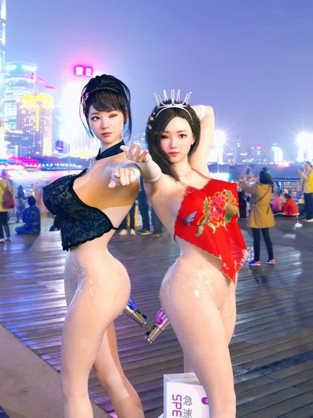 搔浪姐妹!内部游戏版+高清CG+动画整合版 CG/画集-第2张
