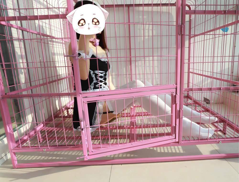洛美 - 牢笼中的白丝女仆 COS-第1张