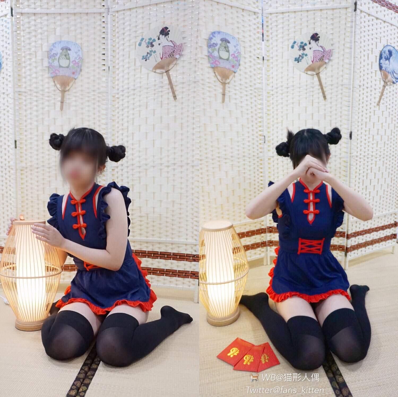 猫形人偶~调教向美女博主:高能合集 COS-第2张