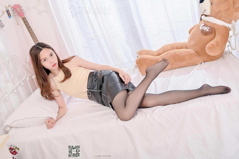 [SSA丝社]超清写真 NO.115 双双 腿模双双粉嫩少女黑丝清凉一夏[/1.74GB]