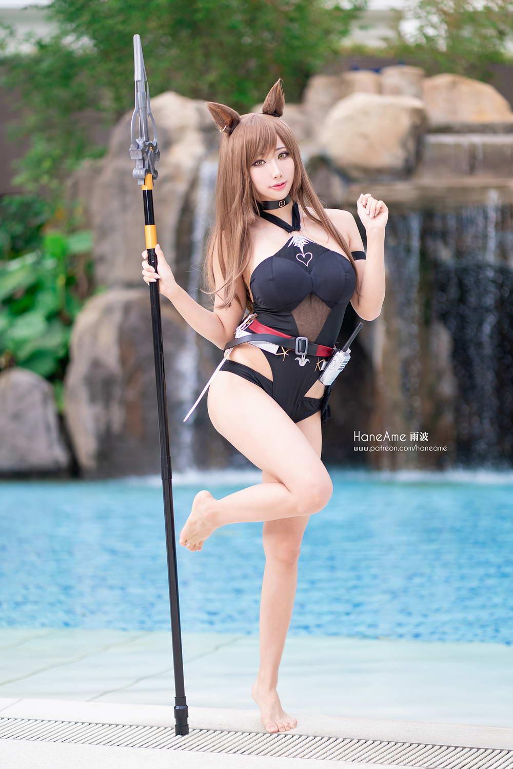 Hane Ame 雨波写真 NO.042 – 天火泳装[/29MB]