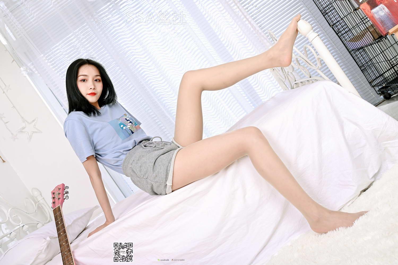 [SSA丝社]超清写真 NO.131 君君 居家小姐姐直播拍摄成片[/1.57GB]
